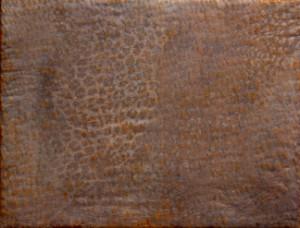 2014 kl 2, 53x27cm, Mischtechnik-Textilien