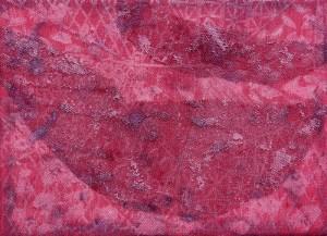 2014 kl 9, 35x27cm ,Textil-Mischtechnik