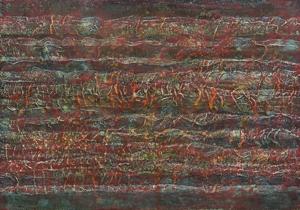 2013 Mai, 97x67cm, Acry-Öl-Wachs-Mischtechnik auf Textil, Hdf