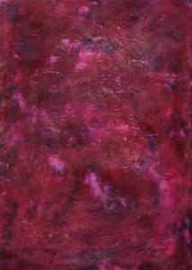 2012 Okt-Nov (3) 51x71cm, Wachsmischtechnik auf Textil