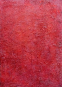 2012 Okt-Nov (2) 51x71cm, Wachsmischtechnik auf Textil